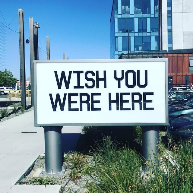 Wish You Were Here Artwork | Find Christchurch NZ